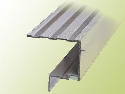 Aluminiumprofil U mit Lichtkanal