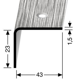 Winkelprofil Nr. 544 Edelstahl