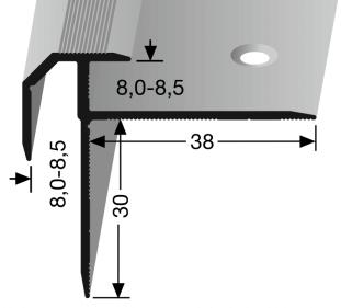 Treppenkantenprofil DEKO Nr. 838