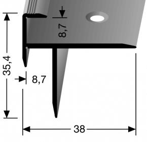 Treppenkantenprofil Nr. 209