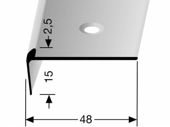 Treppenkantenprofil Nr. 859