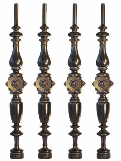 Säulen und Baluster Nr. 9