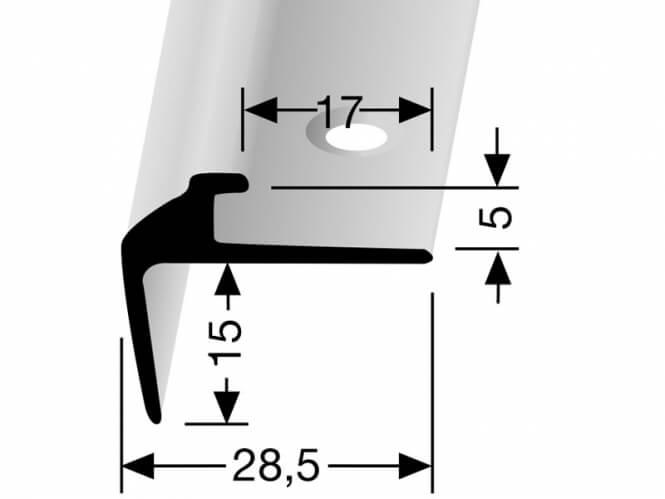 Treppenkantenprofil DEKO Nr. 850
