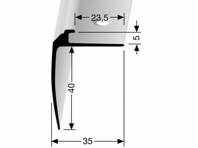 Treppenkantenprofil DEKO Nr. 852
