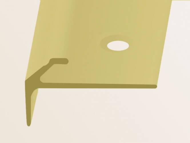 treppenkantenprofil messing deko nr 855 k berit treppenrenovierung treppensanierung. Black Bedroom Furniture Sets. Home Design Ideas
