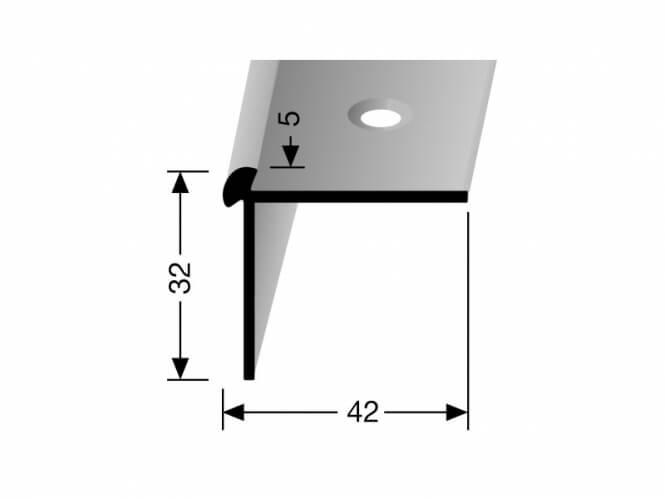 Treppenkantenprofil DEKO Nr. 873