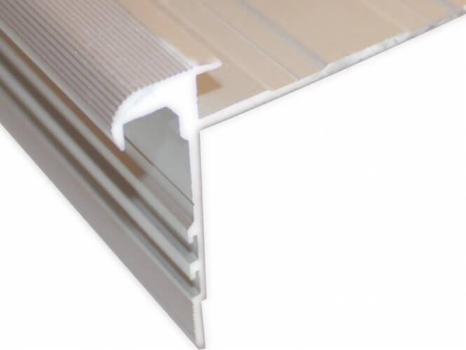 reno profil laminat schiene standard treppenrenovierung treppensanierung. Black Bedroom Furniture Sets. Home Design Ideas