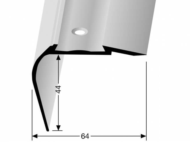 Treppenkantenprofil KOMBI Nr. 707C