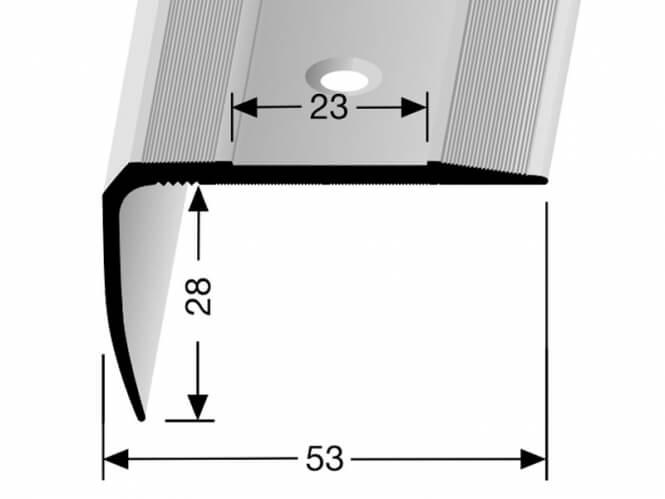 Treppenkantenprofil RENO Nr. 712
