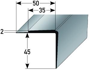 PVC Treppenkante Nr. 362