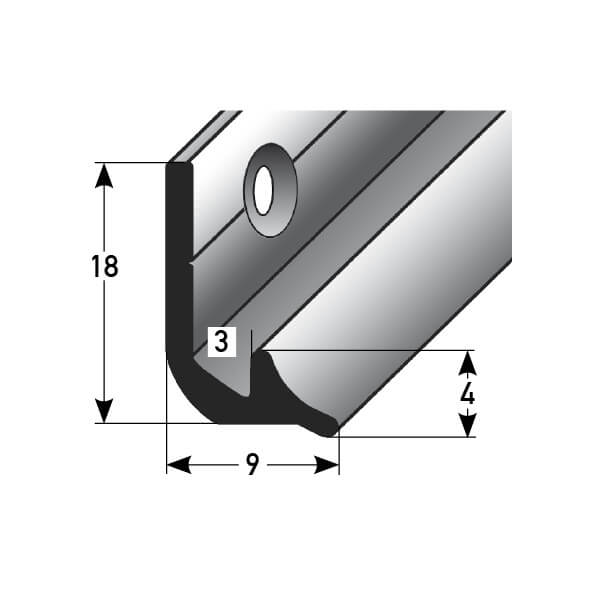 Innenecke Nr. 369 (Aluminium)