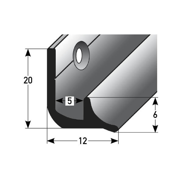 Innenecke Nr. 370 (Aluminium)