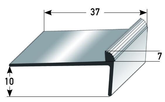 Kantenprofil Nr. 333 (Aluminium)