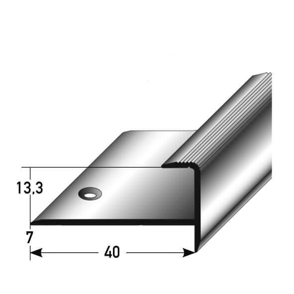 Treppenkantenprofil Nr. 263 (Aluminium)