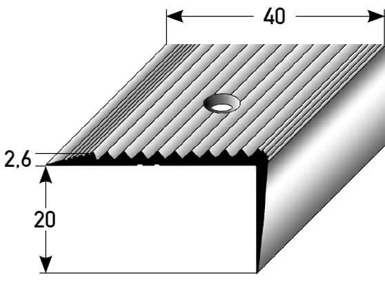 Profilschiene Nr. 091 (Aluminium)