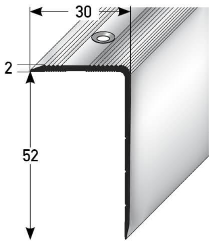 Treppenprofil Nr. 345 (Aluminium)