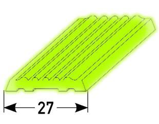 Gleitschutz Nr. 335 (27mm, nachleuchtend)