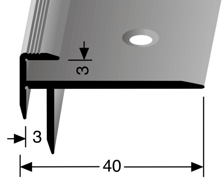 Treppenkantenprofil Nr. 826