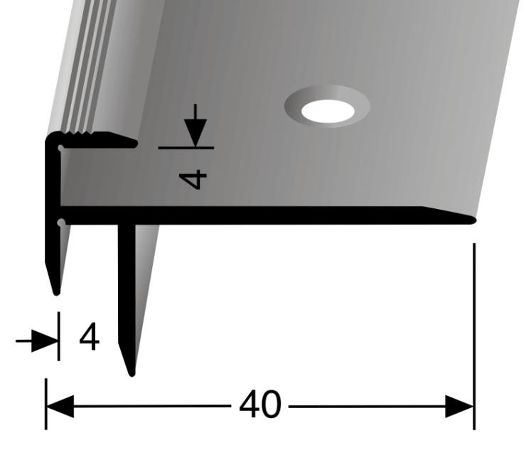 Treppenkantenprofil Nr. 828
