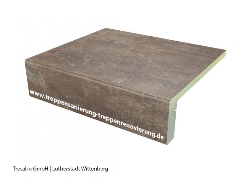 Laminatstufe Used Look mit Stellstufe Hafa