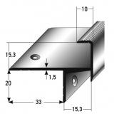 Treppenkantenprofil Nr. 261 (Aluminium)