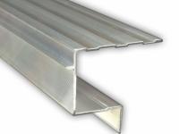 Aluminiumprofil U für Holzstufen / 3000 mm