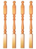 Geländerpfosten Holz Nr.8