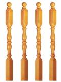 Treppenpfosten Holz Nr.15