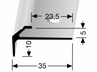 Treppenkantenprofil Messing DEKO Nr. 855
