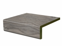 Vinyl Treppenstufe Rustic Anthracite Oak