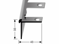 Treppenkantenprofil Nr. 875 EB