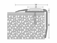 Kombiprofil 54 x 44 mm - Nr. 194