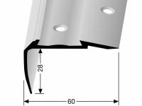 Treppenkantenprofil Messing KOMBI Nr. 706C