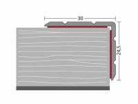Winkelprofil 30,0 x 24,5 mm - Nr. 168