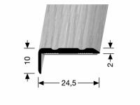 Winkelprofil Holzdekor Nr. 236SK