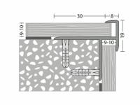 Treppenabschluss-Profil Nr. 274