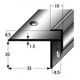 Kantenprofil Nr. 101 (Aluminium)