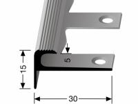 Treppenkantenprofil Nr. 807 EB