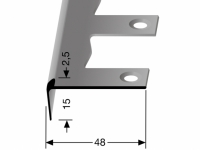 Treppenkantenprofil Nr. 859 EB