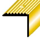 Treppenstufenprofil Nr. 100 (Messing)