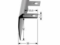 Treppenkantenprofil Nr. 852 EB