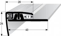 Treppenprofil Nr. 351 (verstellbar)