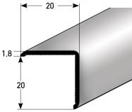 Eckschutz Nr. 337 (Aluminium)