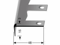 Treppenkantenprofil Nr. 860 EB