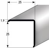 Eckschutz Nr. 338 (Aluminium)