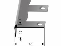 Treppenkantenprofil Nr. 861 EB