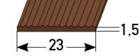 Gleitschutz gerippt 23mm