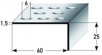Treppenkante Nr. 318 (Edelstahl)