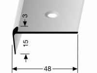 Treppenkantenprofil Nr. 860