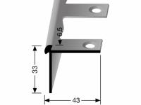 Treppenkantenprofil Nr. 874 EB